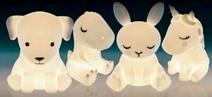 ❤️UNICORN BUNNY PUPPY DOG T-REX DINOSAUR trex Night Light USB LED Recharge❤️