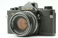 OLYMPUS OM-2 Black Camera w/ F.Zuiko Auto-S 50mm F1.8 from JAPAN *Exc 5+*
