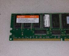 Hynix HYMD525G726AS4-L 2GB 184p PC1600 CL3 36c 128x4 DDR200 2Rx4 ECC RDIMM