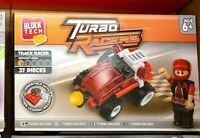 BLOCK TECH TURBO RACER  WITH  FIGURE Brand New Box SEALED BARCODED