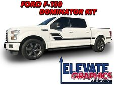 Fits Ford F-150 Dominator Side Hockey Stripes 3M Graphics Vinyl Decals 2009-2020