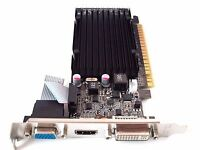 1GB 1024MB Windows 10 8 7 Vista XP Linux PCIe x16 Video Graphics VGA Card