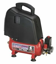 Sealey Compressor 6ltr Belt Drive 1.5hp Oil SAC00615 1