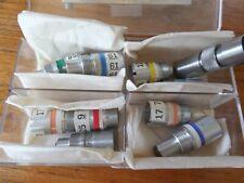 Lot Laser Optics Microscope Adapter Lens Objective Assortment