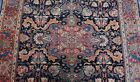 """ANTIQUE 1880s SAROUKK  HAND KNOTTED WOOL  ORIENTAL RUG CLEANED  4'5"""" x 6'8"""""""