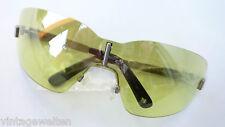 MISSONI Occhiali da sole XXL continue disco verde a specchio senza bordi Gr: L Nuovo
