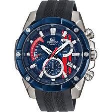 de95e0c44b61 Banda De Resina Casio Edifice Cronógrafo Reloj para hombres EFR-559TRP-2A