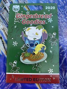 Disney 2020 Gingerbread Goodies Stitch LE 1500 Pin