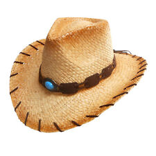 Milani cowboy Hat 100% Straw One size Fits Most