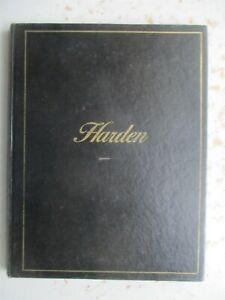 Harden Catalog of Fine Furniture - Hardcover Edition, 1977-1978