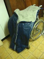 Rollstuhl Schlupfsack Wärmesack Wärmedecke mit Webpelz NEU