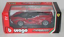 BOXED Die Cast Car 1:24 Scale BURAGO Ferrari Racing