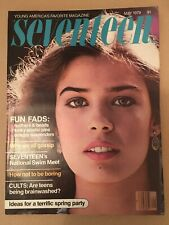 Seventeen magazine May 1979 Kristian Alfonso cover