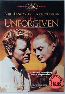 The Unforgiven DVD - Burt Lancaster - Free Post