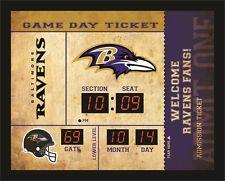Baltimore Ravens Bluetooth Scoreboard Wall Clock Free Shipping