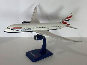 1/200 Hogan Boeing 787-8 British Airways no-reg but rare matching blue paint