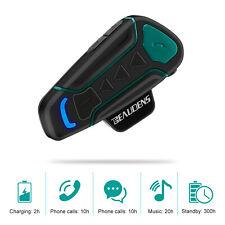 Motorcycle Bluetooth Headset 1200m 3 Riders Helmet Intercom Communication Phone