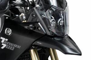 Puig Negro Mate Frente Beak Guardabarros FENDER Yamaha Tenere 700 19-20 M3806J