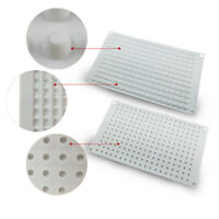 28 Small Dot Cake Mousse Mold Chocolate DIY Baking Silicone Mould 9.3*17*0.6CM