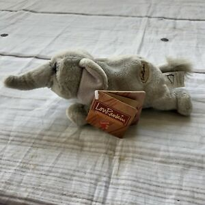 "Dakin Lou Rankin Hoover Elephant Plush 8"" Mini Friend Bean Bag w Tags Stuffed"