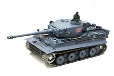 RC Panzer German Tiger I 1:16 Pro Modell R&S Metallgetriebe Metallketten 2,4Ghz