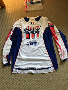 JT Racing Motocross Jersey New jean Michel Bayle Replica Pro Tour Large