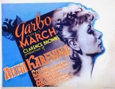 OLD MOVIE PHOTO Anna Karenina Lobby Card Greta Garbo 1935