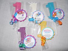 12 Nick Jr Shimmer and Shine Gourmet 1st Birthday Party Favors with custom tags