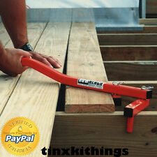 BoWrench Floor Decking Hand Tool Join Tongue Groove Wood Gap Builder Equipment