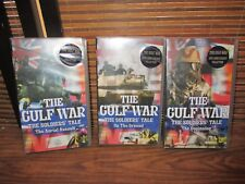 The Gulf War Soldiers Tales Set of Three VHS Video Tape (NEW)