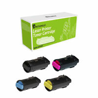 Multipack C600 Compatible 106R03900 - 106R03903 Toner For Xerox C600DT C600DX