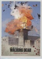 2014 Cryptozoic The Walking Dead Season 3 Part 1 #67 Attack on the Prison 1m8