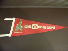 Collectible Walt Disney World Felt Pennant Walt Disney Productions