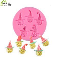 Halloween Mini Pumpkin Mould Fondant Mold DIY Candy Pastry Cake Decorating Tool