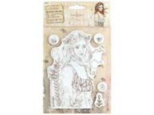 Santoro Willow Rubber Stamps LE MESSAGE