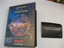 JEWELS OF DARKNESS ATARI ST GAME DISK AND CASE FIREBIRD