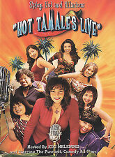 HOT TAMALES LIVE (DVD, 2003) New / Factory Sealed / Free Shipping