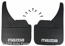 Universal Car Mudflaps Front Rear Mazda Branded B E Series BT-50 Mud Flap Guard