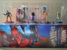Marvel heroclix lotto 5 supereroi lot 5 figurine 1 7 24 32 38 web of spiderman