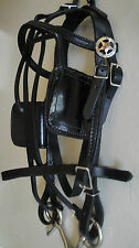 Miniature Horse Harness ~ USA Made ~ Leather Driving Harness made by the Amish