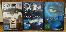 DISTRICT 9 & PROMETHEUS & AVATAR - Science-Fiction - DVD TOP