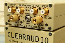 """Clearaudio """"REFERENCE PHONOSTAGE"""" MC Phono-Vorstufe, Gold, preamplifier pre amp"""