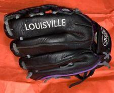 "Louisville Slugger Xeno Catcher's Mitt, Left, Black, 11.75"""