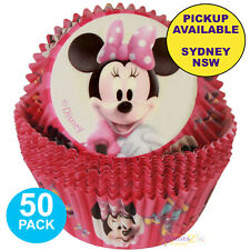 MINNIE MOUSE PARTY SUPPLIES 50 WILTON CUPCAKE BAKING CUPS WRAPPERS PATTY PANS