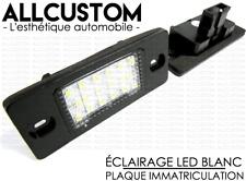 LED LICENSE PLATE LIGHTS WHITE BULBS LAMP POWERFULL for VW TOUAREG 1 2002-2010
