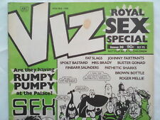 VIZ MAGAZINE COMIC,NO 36,1989,WELL PRESERVED.ROYAL SEX SPECIAL.ESTHER RANTZEN