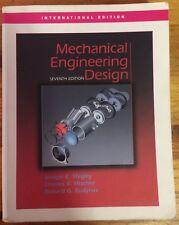 Mechanical Engineering Design, 7th Edition, International Edition (paperback)