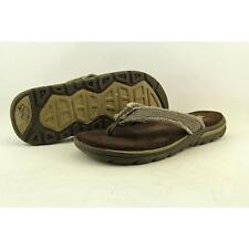 SKECHERS Mens Supreme Bosnia Thong Sandals 9 Chocolate Brown