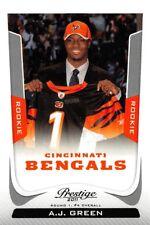 2011 Prestige #201B A.J. Green RC Rookie Bengals (Draft) SP