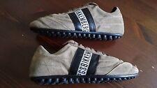 BIKKEMBERGS Sneakers n.39 UK 6 Perfette condizioni - pelle scamosciata Marroni
